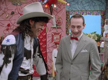 Episodio 10 (TTemporada 1) de Pee-wee's Playhouse