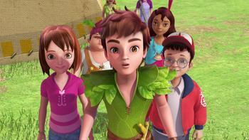Episodio 18 (TTemporada 1) de Las nuevas aventuras de Peter Pan