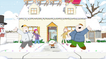 Episodio 8 (TTemporada 9) de Family Guy