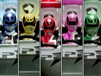 Episodio 19 (TPower Rangers S.P.D.) de Power Rangers S.P.D.