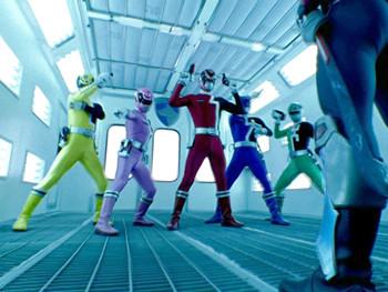 Episodio 13 (TPower Rangers S.P.D.) de Power Rangers S.P.D.