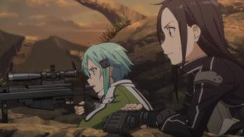 Episodio 8 (TTemporada 1) de Sword Art Online II