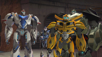 Episodio 21 (TTemporada 2) de Transformers Prime