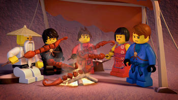 Episodio 2 (TTemporada 1) de LEGO Ninjago: Masters of Spinjitzu