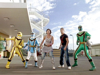 Episodio 26 (TPower Rangers Mystic Force) de Power Rangers Mystic Force