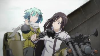 Episodio 4 (TTemporada 1) de Sword Art Online II