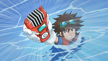 Episodio 4 (TDigimon Xros Wars: Temporada 1) de Digimon Fusion