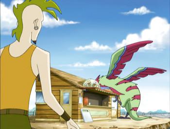 Episodio 7 (TTemporada 2) de Dino Squad