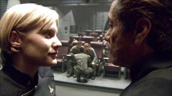 Episodio 12 (TTemporada 1) de Battlestar Galactica