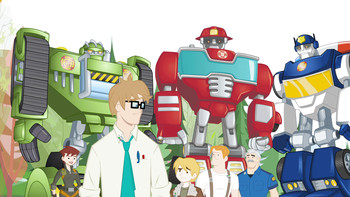 Episodio 18 (TTemporada 1) de Transformers: Rescue Bots