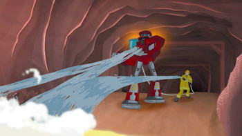 Episodio 2 (TTemporada 1) de Transformers: Rescue Bots