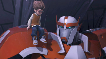 Episodio 14 (TTemporada 1) de Transformers Prime