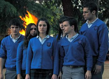 Episodio 9 (TTemporada 3) de El internado