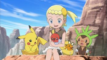 Episodio 35 (TXY) de Pokémon: XY