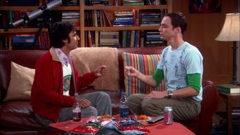 Episodio 8 (TTemporada 2) de The Big Bang Theory