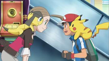 Episodio 1 (TXY) de Pokémon: XY
