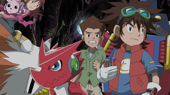 Episodio 12 (TDigimon Xros Wars: Temporada 1) de Digimon Fusion