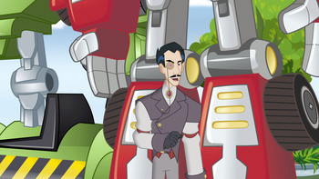 Episodio 12 (TTemporada 1) de Transformers: Rescue Bots