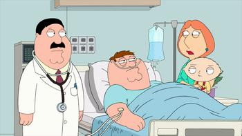Episodio 10 (TTemporada 9) de Family Guy