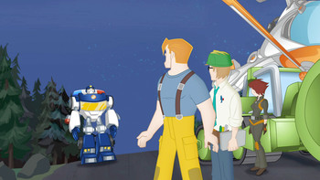 Episodio 16 (TTemporada 1) de Transformers: Rescue Bots