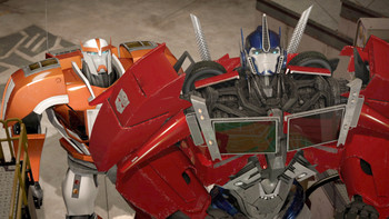 Episodio 17 (TTemporada 2) de Transformers Prime