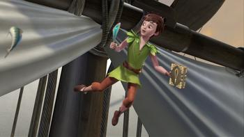 Episodio 8 (TTemporada 1) de Las nuevas aventuras de Peter Pan