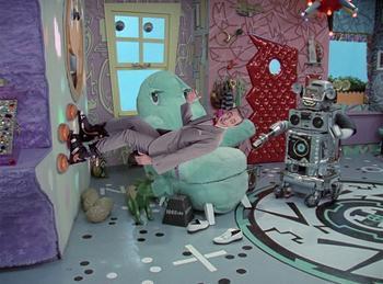 Episodio 8 (TTemporada 1) de Pee-wee's Playhouse