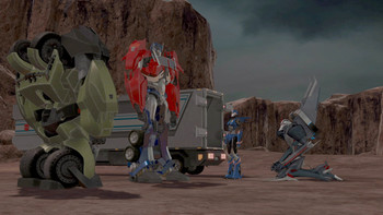 Episodio 20 (TTemporada 1) de Transformers Prime