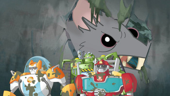 Episodio 14 (TTemporada 1) de Transformers: Rescue Bots