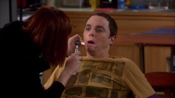Episodio 10 (TTemporada 2) de The Big Bang Theory