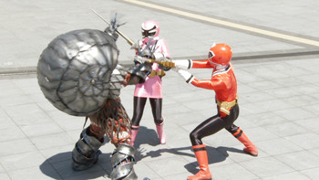 Episodio 2 (TPower Rangers Super Samurai) de Power Rangers Super Samurai