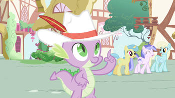 Episodio 10 (TTemporada 2) de My Little Pony: Friendship Is Magic