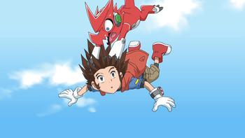 Episodio 18 (TDigimon Xros Wars: Temporada 1) de Digimon Fusion