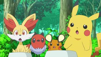 Episodio 11 (TXY) de Pokémon: XY
