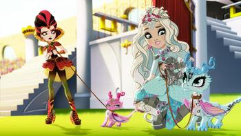 Episodio 2 (TJuego de dragones) de Ever After High