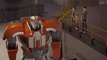 Episodio 5 (TTemporada 2) de Transformers Prime
