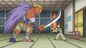 Episodio 24 (TDigimon Xros Wars: Temporada 1) de Digimon Fusion