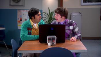 Episodio 8 (TTemporada 6) de The Big Bang Theory