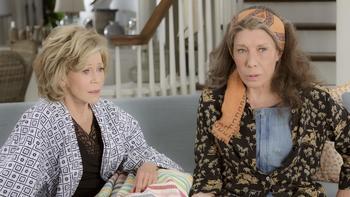 Episodio 13 (TTemporada 1) de Grace and Frankie