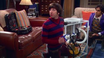 Episodio 22 (TTemporada 2) de The Big Bang Theory