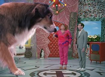 Episodio 9 (TTemporada 4) de Pee-wee's Playhouse