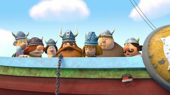 Episodio 37 (TTemporada 1) de Vicky el vikingo