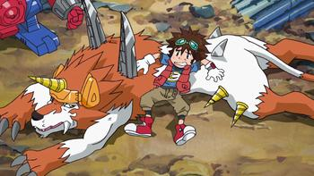 Episodio 20 (TDigimon Xros Wars: Temporada 1) de Digimon Fusion