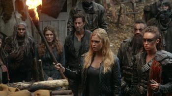 Episodio 9 (TTemporada 2) de The 100
