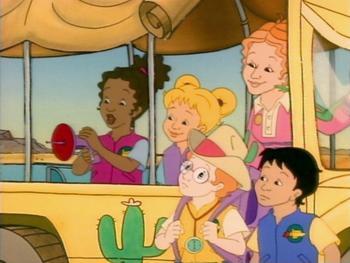 Episodio 7 (TTemporada 1) de The Magic School Bus
