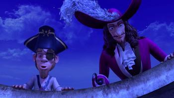 Episodio 24 (TTemporada 1) de Las nuevas aventuras de Peter Pan