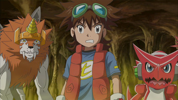 Episodio 8 (TDigimon Xros Wars: Temporada 1) de Digimon Fusion