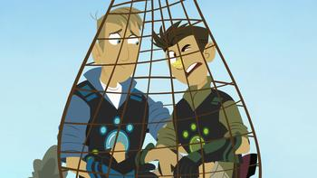 Episodio 10 (TTemporada 1) de Los hermanos Kratts