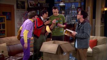 Episodio 17 (TTemporada 3) de The Big Bang Theory