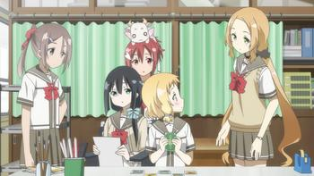 Episodio 4 (TTemporada 1) de Yuki Yuna Is a Hero